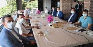 Bakan Çavuşoğlu Alanya HEP Üniversitesi'nin toplantısına katıldı