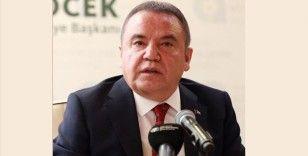 Kovid-19 tedavisi gören Başkan Böcek'in sağlık durumu stabil