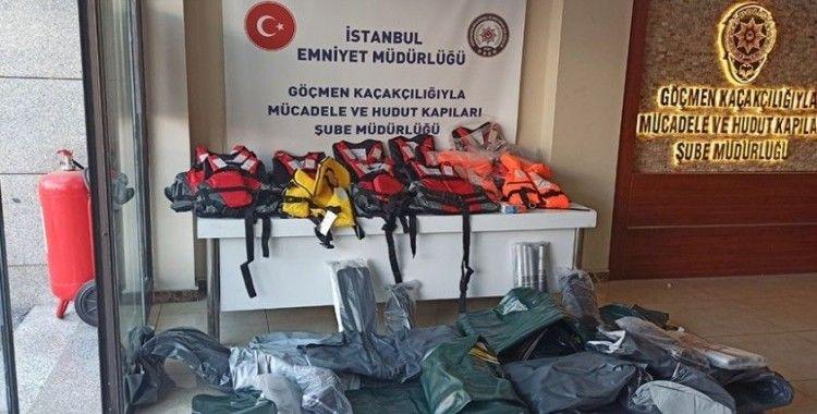 Göçmen kaçakçılığı çetesine operasyon: 22 gözaltı