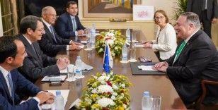 ABD Dışişleri Bakanı Pompeo Güney Kıbrıs Rum Yönetimi'ni ziyaret etti