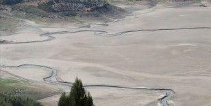 Denizli'deki İnceğiz Kanyonu'nda mevsimsel sıcaklık nedeniyle sular kurudu