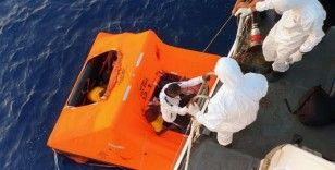 Yunan Sahil Güvenliği 42 düzensiz göçmeni ölüme terk etti