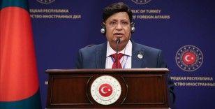 Bangladeş Dışişleri Bakanı Momen: Rohingya krizinde Türk kardeşlerimiz yanımızdaydı