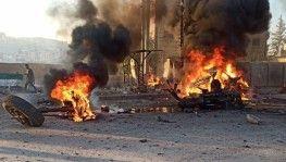 Afrin'de bomba yüklü araç patladı