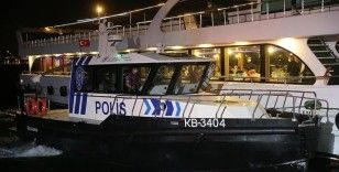İstanbul'da denizde Kovid-19 denetimi yapıldı