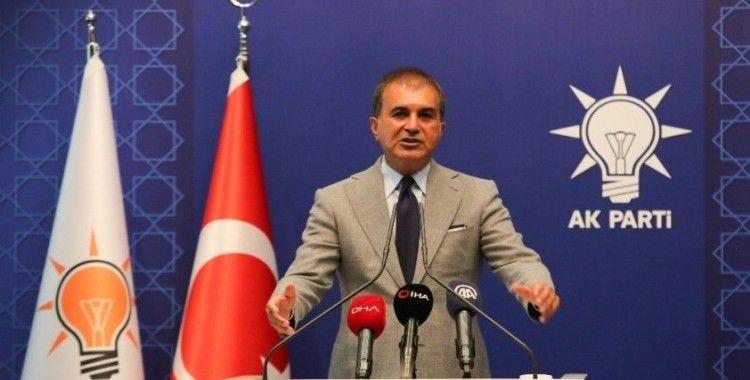 """AK Parti Sözcüsü Çelik: """"Kızılay'a yapılan alçak saldırıyı kınıyoruz"""""""