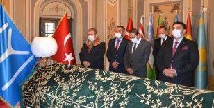 BBP Genel Başkanı Mustafa Destici, Ertuğrulgazi Türbesinin ziyaret etti
