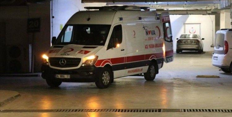 Suriye'de şehit olan Türk Kızılay personelinin cenazesi memleketine getirildi