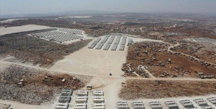 Deniz Feneri Derneğince İdlib'de yapılan 650 briket eve aileler yerleştirildi