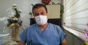 Koronavirüsü yenen doktor: Milyonlarca dikenin üzerinde yatıyormuş gibiydim