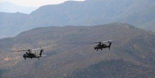 Siirt'te PKK'lı teröristlere ait sığınaklar imha edildi