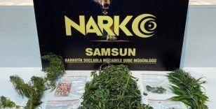 Samsun'da narkotik polisinden şok uygulama