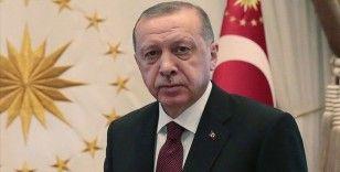 Cumhurbaşkanı Erdoğan'dan şehit Kızılay personelinin ailesine başsağlığı mesajı