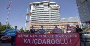 İBB'de işten çıkartılan işçiler CHP Genel Merkezi önünde toplandı
