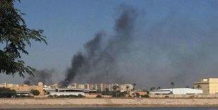 Bağdat'ta Yeşil Bölge'ye füzeli saldırı, ABD Büyükelçiliği'nden siren sesleri yükseliyor