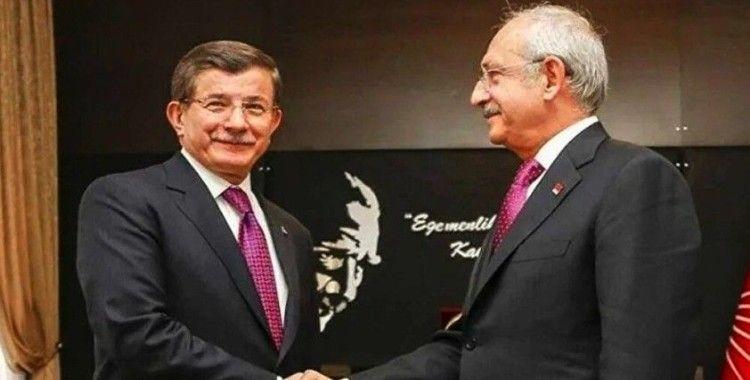 Kılıçdaroğlu ve Davutoğlu bir araya geldi: 'İttifak diye bir konu gündeme gelmedi'