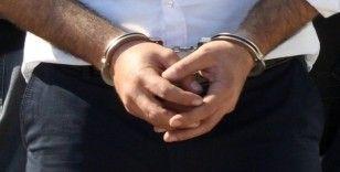 Çelik kasayı jet taşı ile kesip 380 bin lirayı çalan hırsız yakalandı