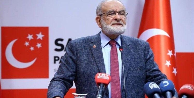 Saadet Partisi Genel Başkanı Karamollaoğlu: Biz dış politikada diplomasi ve diyaloğu tercih ederiz