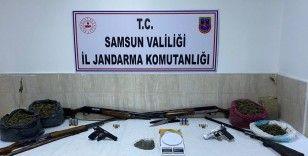 Vezirköprü'de uyuşturucu operasyonu: 2 gözaltı