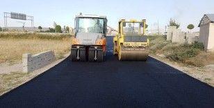 Büyükşehir Andaç Mahalle yolunu asfaltlıyor