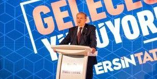 KKTC'de cumhurbaşkanı adayı Ersin Tatar vizyonunu açıkladı