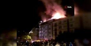 Başkent'te korkutan yangın: 1 kişi dumandan etkilendi