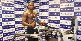 Sivasspor'un yeni transferi Kayode sağlık kontrolünden geçti