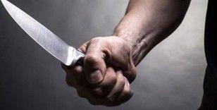 Akraba kavgasında kadın bıçakla yaralandı