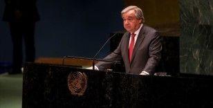 BM Genel Sekreteri Guterres: Bir kutuplaşma ve bölünme salgınıyla karşı karşıyayız