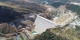 Türkiye'nin ikinci büyük sulama barajı olacak Silvan'da önemli bir eşik aşıldı