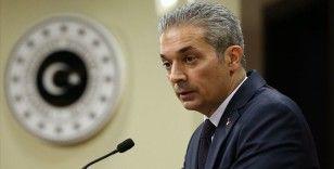 Dışişleri Bakanlığı Sözcüsü Aksoy: Kıbrıs meselesinde federasyonla ilgili konuşacak hiçbir şey kalmamıştır