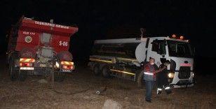 Tosya'da 15 hektar ormanlık alan yandı