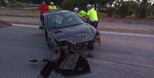 Çalıntı otomobil kazasında 1 kişi hayatını kaybetti