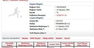 Fenerbahçe'de Mert Hakan Yandaş'ın lisansı çıktı  (Fotoğraflı)