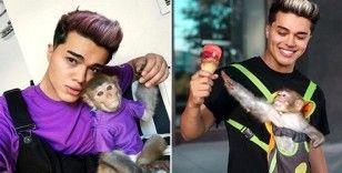 3'üncü maymuna da el konulan Youtuber Meriç İzgi tutuklandı