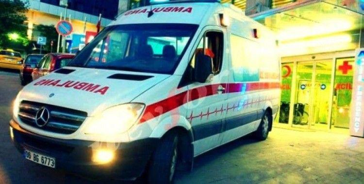Aksaray'da yolcu otobüsü devrildi: 37 kişi yaralandı