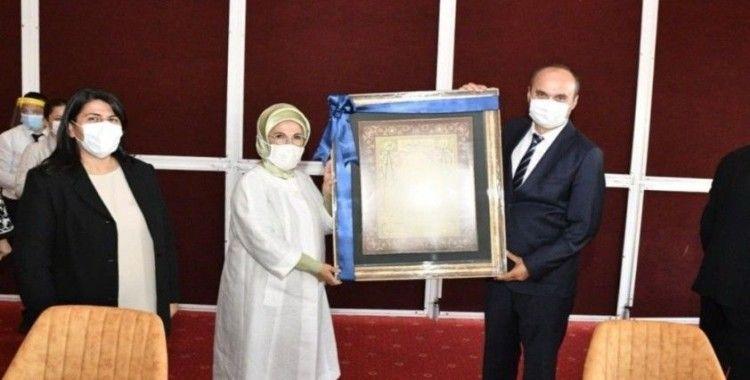 Emine Erdoğan ve TBMM Başkanı Şentop Edirne'de
