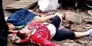 Rusya'da çöken balkon yoldan geçenlerin üzerine düştü
