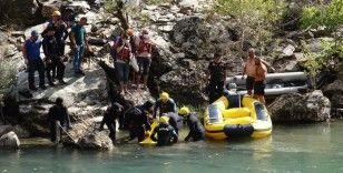 Tunceli Valiliği: 'Kayıp 2 vatandaşımızdan 1'inin cansız bedenine suyun 1,5 metre altında ulaşıldı'