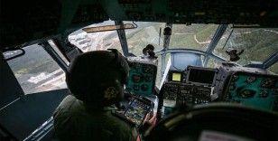 Bursa'da jandarmadan helikopterle trafik denetimi