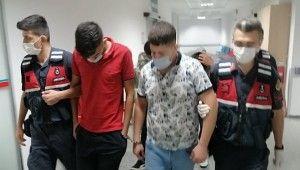 Suçüstü yakalanan 4 uyuşturucu taciri tutuklandı