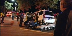 Giresun'da LPG tankerine arkadan çarpan araçta bulunan 2 kişi hayatını kaybetti