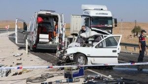 Nevşehir'de feci kaza
