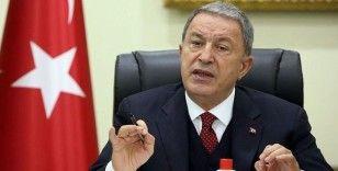 Bakan Akar Libya Yüksek Devlet Konseyi Başkanı Halid el-Meşri ile görüştü
