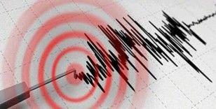 Çankırı'da 2.7 şiddetinde deprem