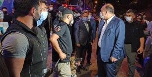 İstanbul Emniyet Müdürü Aktaş 'Yeditepe Huzur' asayiş uygulamasına katıldı