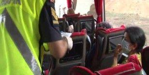 Şehirler arası yolcu otobüslerinde 'HES Kodu' denetimi