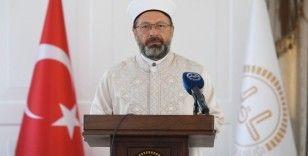 Diyanet İşleri Başkanı Erbaş'tan korona mesajı