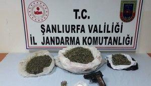 Cezaevi firarisi uyuşturucu ve silahla yakalandı