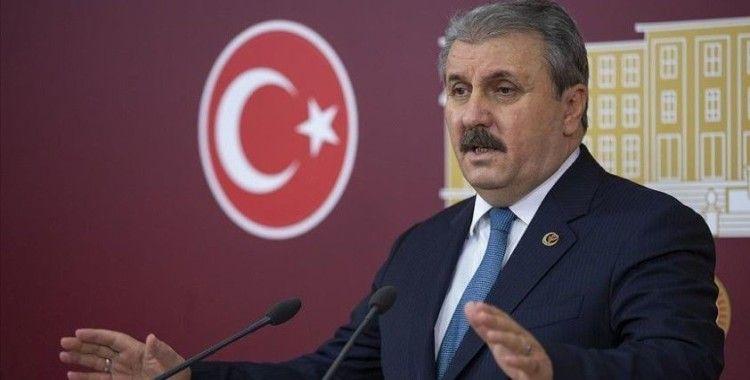 BBP Genel Başkanı Mustafa Destici: 'Devletimiz ve milletimiz var olsun'